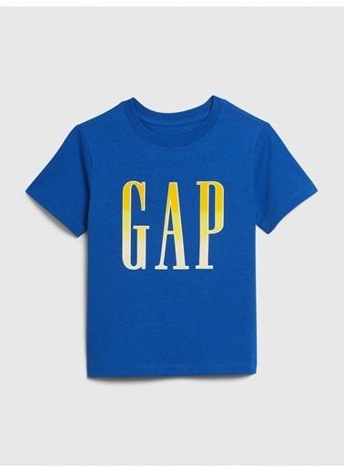 Gap Gap Logo Kısa Kollu T-shirt Lacivert